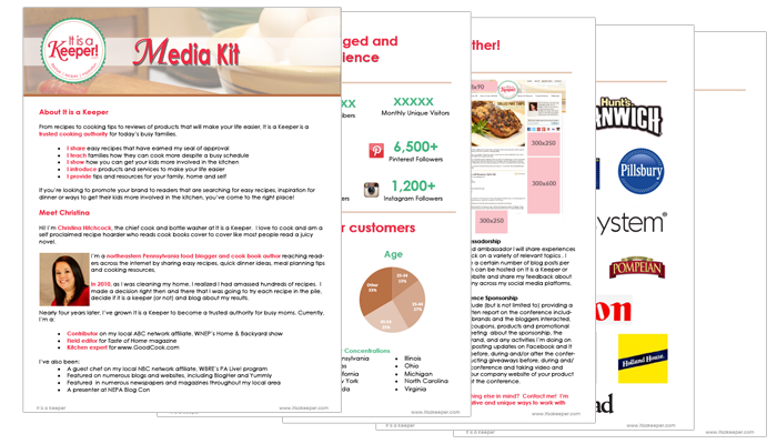 Media Kit examples from bloggers who used flexible, professional media kit templates. Get media kit ideas from It Is a Keeper and 9 others. #makemoneyonline #mediakits #bloggingtips #entrepreneur #canva