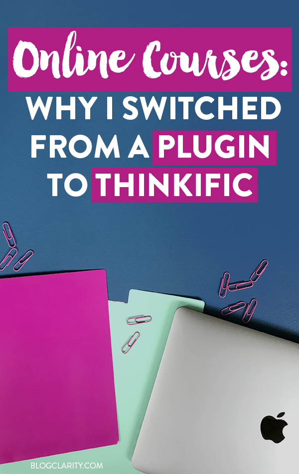 Online Courses: Why I Moved from a Course Plugin to